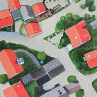 Flooded Village - Toni Silber-Delerive