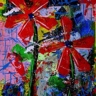 Palette Flowers - Franck  De Las Mercedes