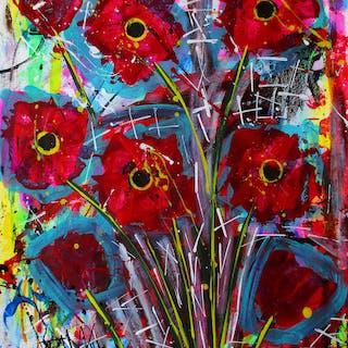 Art Poppies - Franck  De Las Mercedes