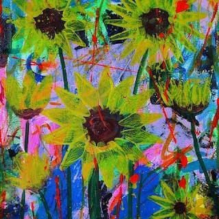 Sunflowers - Franck  De Las Mercedes