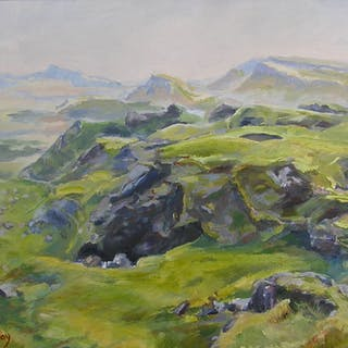 View from the Quiraing - Julia Greenway