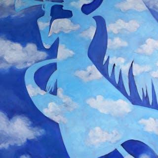 Gabe in the Clouds - Valerie Vescovi