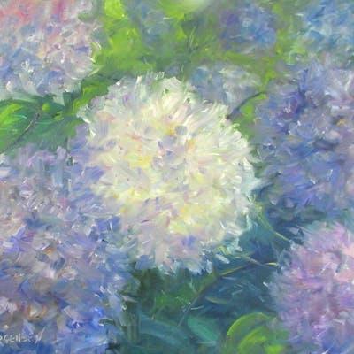 Garden Hydrageas #2 - Linda Yurgensen