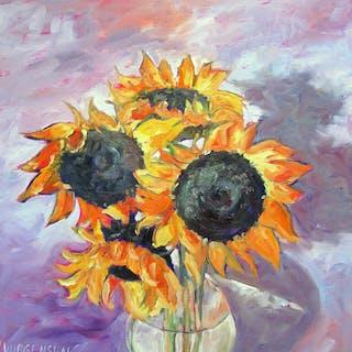 Sunflowers - Linda Yurgensen