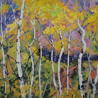 Summer Birches - Linda Yurgensen