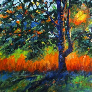 Tree on Fire - Linda Yurgensen