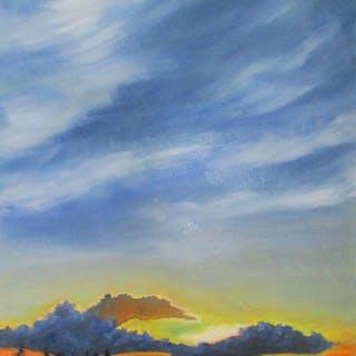 Sunset over Porter's Lake - Linda Yurgensen