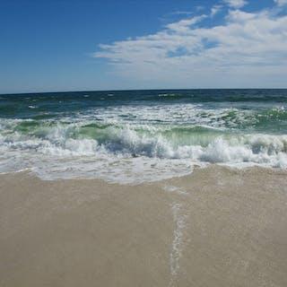 Jersey Shore Beach Canvas Fine Art Photograph - Michael Verlangieri