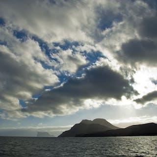 """""Guadalupe Island sunset Baja Mexico"""" Canvas - Michael Verlangieri"