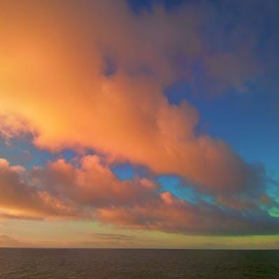 """""Guadalupe Island Sunrise Baja Mexico"""" CANVAS - Michael Verlangieri"
