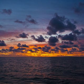 """""Guadalupe Island Morning Sunrise Mexico"""" Canvas - Michael Verlangieri"