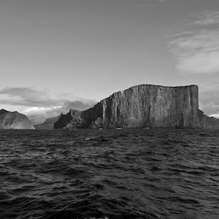 """""Guadalupe Island Black & white vista"""" CANVAS - Michael Verlangieri"