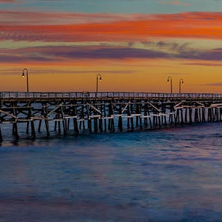 San Clemente Pier Sunset - Marc Plouffe