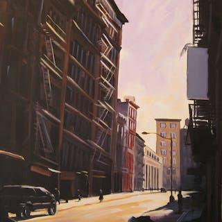 Sunlight  Lispenard St - Ellen Bradshaw