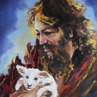 Jesus and friend - Thong Le