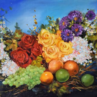 Still Life With Roses - Thong Le