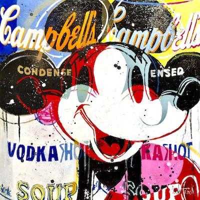 Mickey likes Vodka  blue version - Patrick Cornee