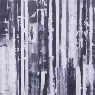 White and Black and Black and White (Diptych) - Francisco Santos