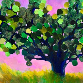 Green Bubble Tree - Brent Hanson