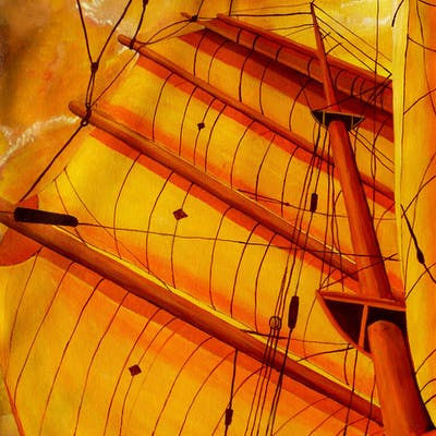 Sailing Through Gold - Anthony Dunphy