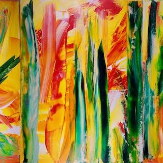 Interrupted Forest - Triptych - Nestor Toro