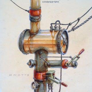 Crazy plumbing creation No. 5 - Steve Knotts