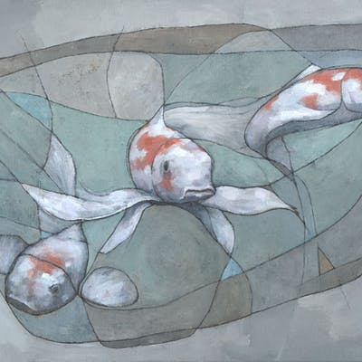 Three Koi Fish - Stephen Mitchell
