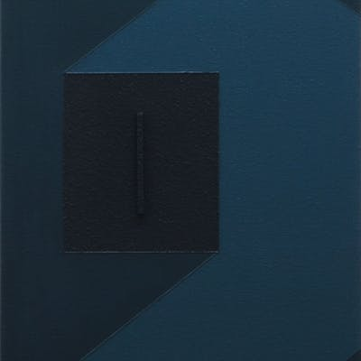 """""""""""LEFT"""""""" - 3D MODERN ABSTRACT PAINTING / CONSTRUCTIO - Rich Moyers"""