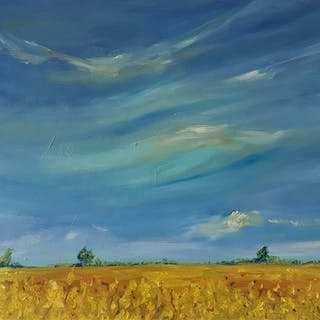 Yellow Fields of Summer - Niki Purcell - Irish Landscapes