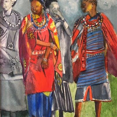 Masai Women - Lynne Atwood