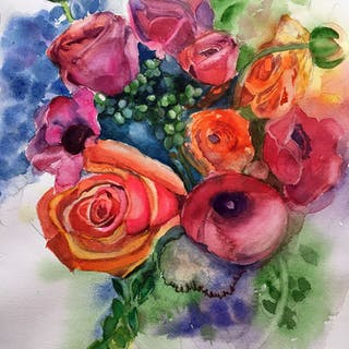 Fantasy Flowers - Lynne Atwood