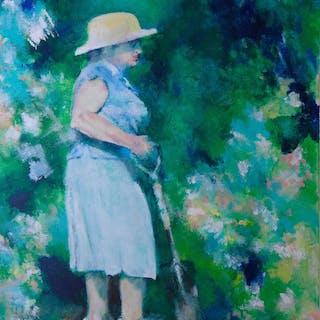 La Grande Dame Jardiniere - Patrice Burkhardt
