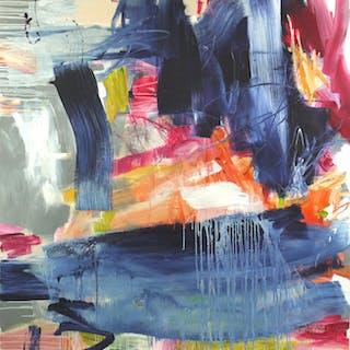 Falling Into Blue - Daniela Schweinsberg