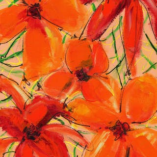 Abstract Floral Two - Lynne Taetzsch