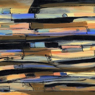 Waves Of Grain And Sky - Lynne Taetzsch