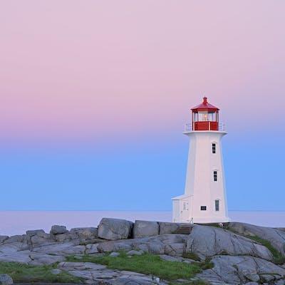 'Peggy's Cove Lighthouse' by Mike Grandmaison - Mike Grandmaison
