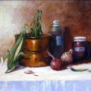Eva's Gouash Pot - Nandor Horthy