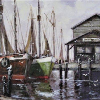 At the Docks - Nandor Horthy