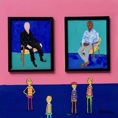 Hockney's Portraits - Brian Nash