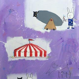 Skittles and Lala at the Circus - Brian Nash