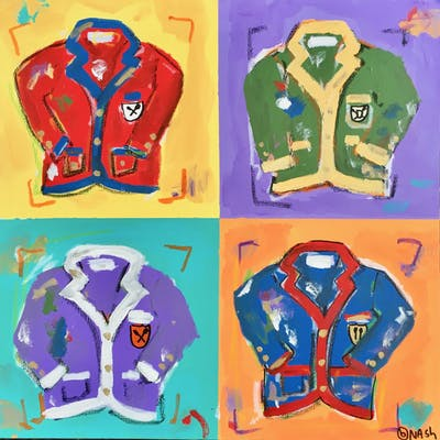 Four Rowing Blazers - Brian Nash