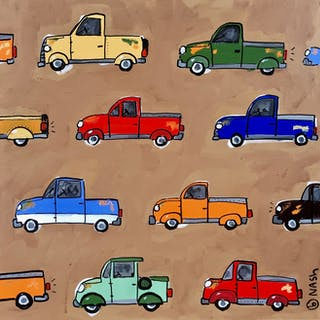 Old Trucks - Brian Nash