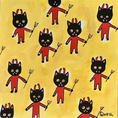 El Diablo de Skittles is all over the place. - Brian Nash