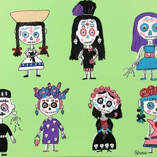 Day of the Dead Dolls - Brian Nash