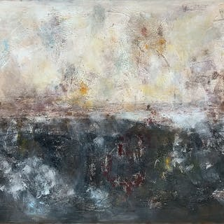 On a Sunday 4  71''x 35''(180x90cm) - Veronica Vilsan