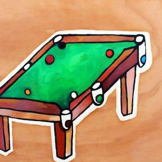 Pool table - Mauricio Benega