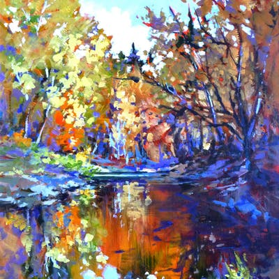 Autumn at the Office - Perry Haddock