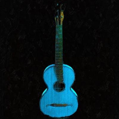 Blue Guitar - Tony Rubino