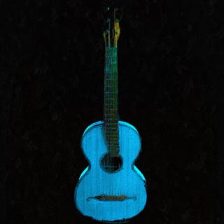 Blue Guitar - Tony Rubino