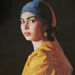 The Artist's Muse - William Oxer F.R.S.A.